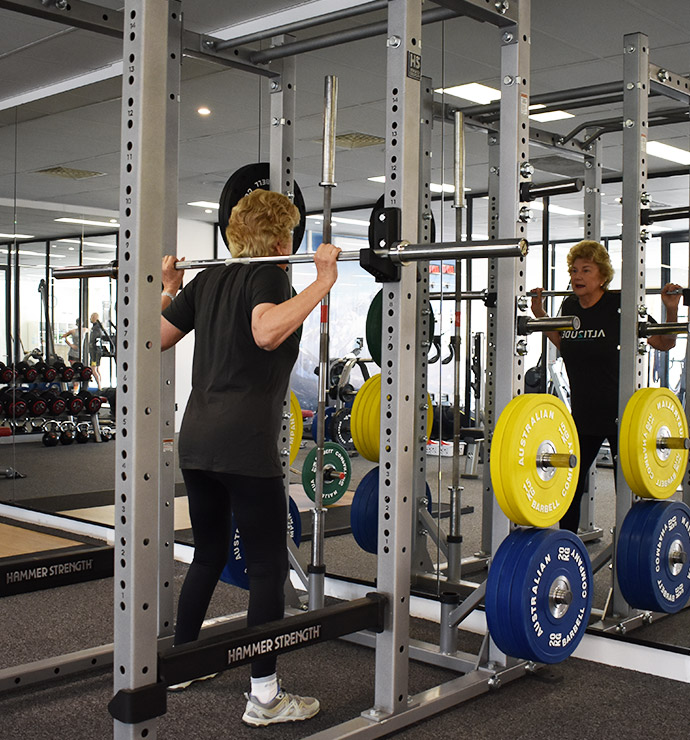 Resistance training for the elderly alti ude high performance